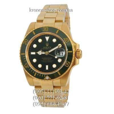 Rolex Submariner Date Ceramic Bezel Gold/Green/Black