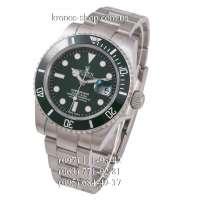 Rolex Submariner Date Ceramic Bezel Silver/Green