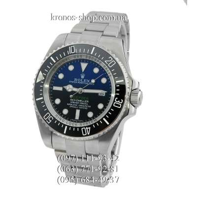 Rolex Deepsea Sea-Dweller Silver/Black-Blue Gradient