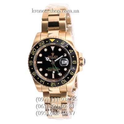 Rolex GMT Master II Gold/Black-Yellow/Black-Green