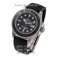 Rolex Yacht-Master Black/Silver-Black/Black