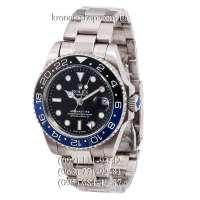 Rolex GMT Master II Silver/Black-Blue/Black