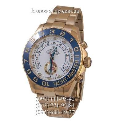 Rolex Yacht-Master II Gold/Blue/White-Blue