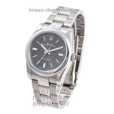 Rolex Oyster Perpetual Silver/Grey