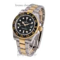Rolex GMT Master II Silver-Gold/Black-Yellow/Black-Green