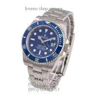 Rolex Submariner Date Ceramic Bezel Silver/Blue/Blue