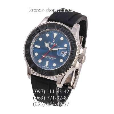 Rolex Yacht-Master Rubber Black/Silver-Black/Blue