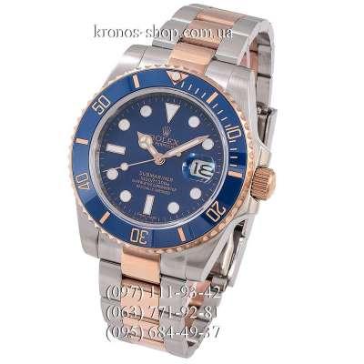 Rolex Submariner Date Ceramic Bezel Silver-Gold/Blue/Blue