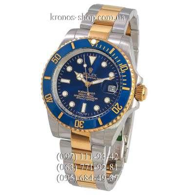 Rolex Submariner Date Ceramic Bezel Silver-Yellow Gold/Blue/Blue