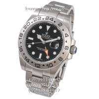 Rolex Explorer II Silver/Black-Orange