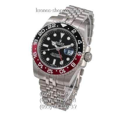 Rolex GMT Master II Coce Jubile Bracelet Silver/Black-Red/Black-Red