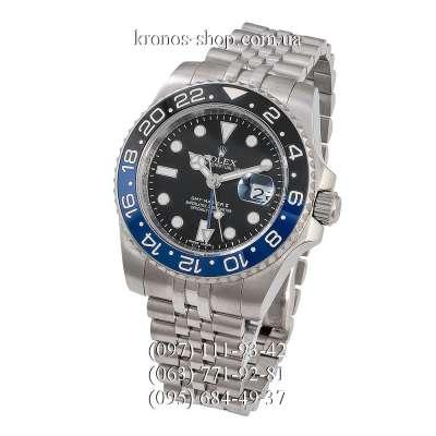 Rolex GMT Master II Batman Jubile Bracelet Silver/Black-Blue/Black-Blue