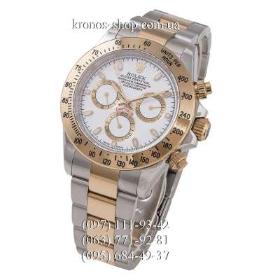 Rolex Cosmograph Daytona AAA Silver-Gold/White-Gold