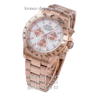 Rolex Cosmograph Daytona AAA Rose Gold/White-Rose Gold