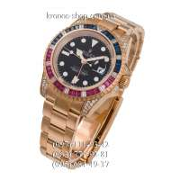 Rolex GMT Master II Yellow Gold Jewellery All Gold/Black