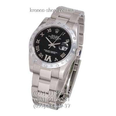 Rolex Datejust Steel Special Silver/Black
