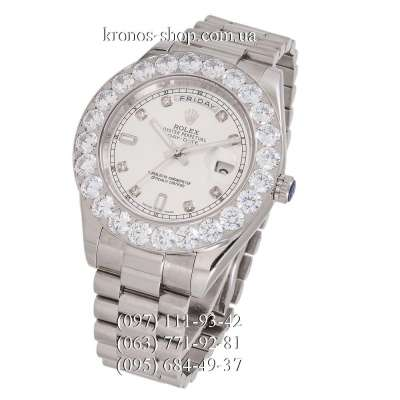 Rolex Day-Date Special Edition All Silver