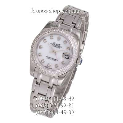 Rolex Datejust Pearlmaster All Silver