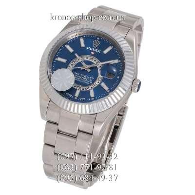 Rolex Sky-Dweller Steel Silver/Blue