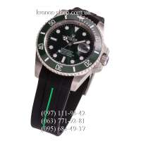 Rolex Submariner Rubber Black/Silver/Green
