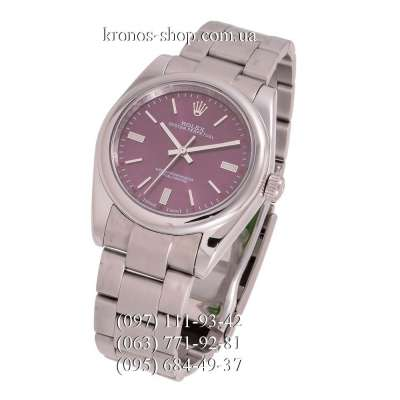 Rolex Oyster Perpetual Silver/Pink
