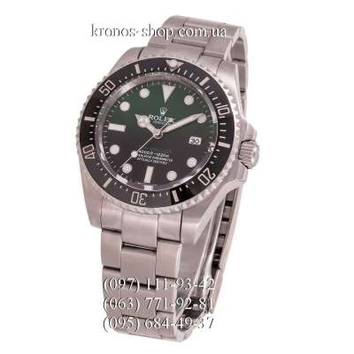 Rolex Deepsea Sea-Dweller Silver/Black-Green Gradient