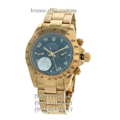 Rolex Cosmograph Daytona Arabic Numerals Gold/Blue