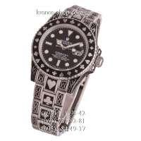 Rolex Submariner Poker Exclusive Silver/Black