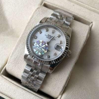 Rolex Datejust 31mm Silver/White