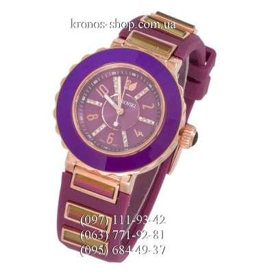 Swarovski Octea Sport Diamonds Purple/Gold