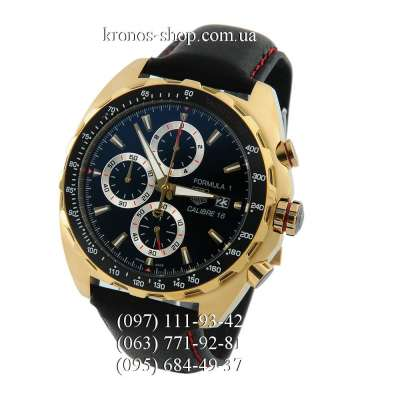 Tag Heuer Formula 1 Calibre 16 Black/Yellow Gold/Black