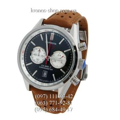 Tag Heuer Carrera Calibre 17 Chronograph Brown/Silver/Black