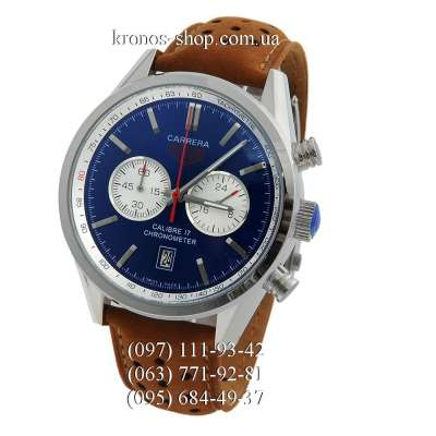 Tag Heuer Carrera Calibre 17 Chronograph Brown/Silver/Blue
