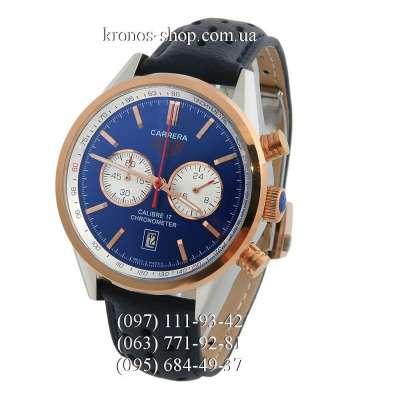Tag Heuer Carrera Calibre 17 Chronograph Black/Gold/Blue