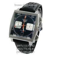 Tag Heuer Monaco Calibre 12 Chronograph Black/Silver/Black