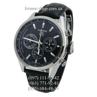 Tag Heuer Carrera Calibre 1969 Limited Edition Leather Black/Silver/Black