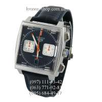 Tag Heuer Monaco Calibre 12 Chronograph Black/Silver/Blue