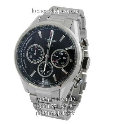 Tag Heuer Carrera Calibre 1969 Limited Edition Silver/Black