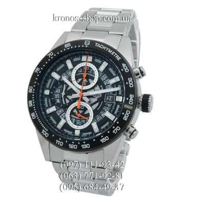 Tag Heuer Carrera Calibre Heuer 01 Silver/Black/Gray