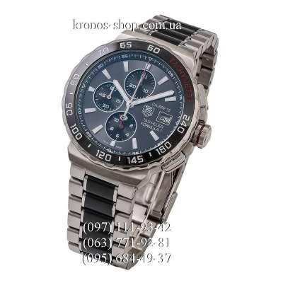 Tag Heuer Formula 1 Calibre 16 Steel Silver-Black/Black/Gray