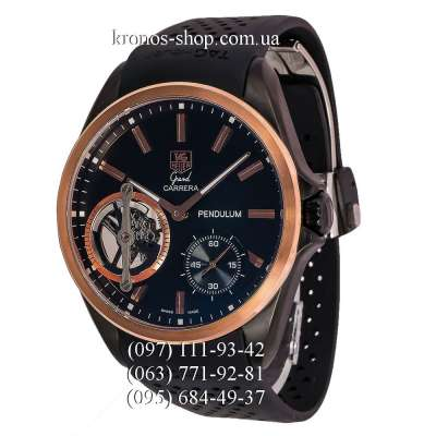 Tag Heuer Grand Carrera Pendulum Black/Gold/Black
