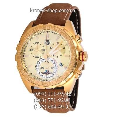 Tag Heuer Formula 1 Chronograph Brown/Gold