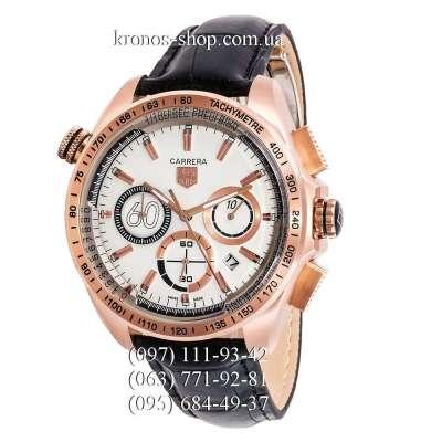 Tag Heuer Carrera 60 Sport Chronograph Black/Gold/White