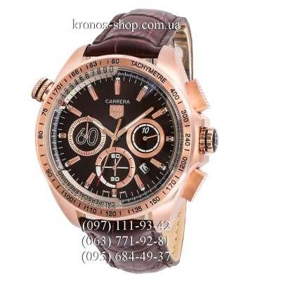 Tag Heuer Carrera 60 Sport Chronograph Brown/Gold/Black