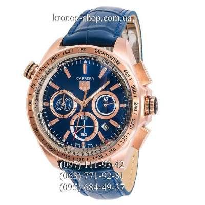 Tag Heuer Carrera 60 Sport Chronograph Blue/Gold/Blue