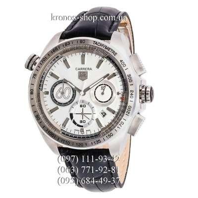 Tag Heuer Carrera 60 Sport Chronograph Black/Silver/White
