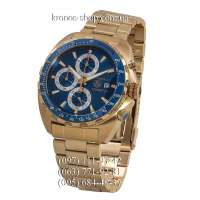 Tag Heuer Formula 1 Calibre 16 Steel Yellow Gold/Blue