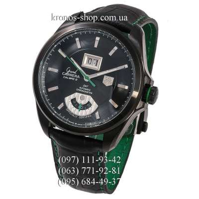 TAG Heuer Grand Carrera Calibre 8 RS Grand-Date All Black-Green