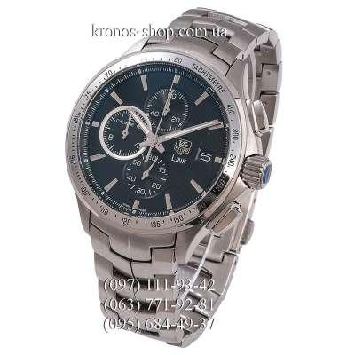 TAG Heuer Link Calibre 16 Chronograph Silver/Black