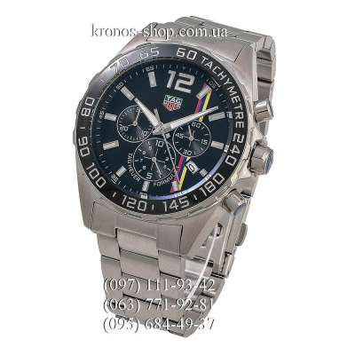 TAG Heuer Formula 1 James Hunt Limited Edition Steel Silver/Black
